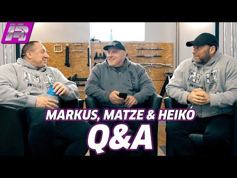 Rühl, Kallbach & Botthof in Q&A-Gesprächsrunde