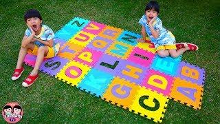 หนูยิ้มหนูแย้ม   ตามหา ABC ที่หายไป Learn ABCs for Kids