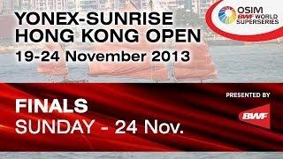 F - XD - C. Adcock / G. White vs. Liu C. / Bao YX. - 2013 Hong Kong Open