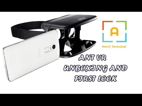 Ant VR Unboxing And First Look