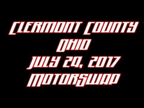 Clermont County Ohio July 29 2017 Motorswap Class