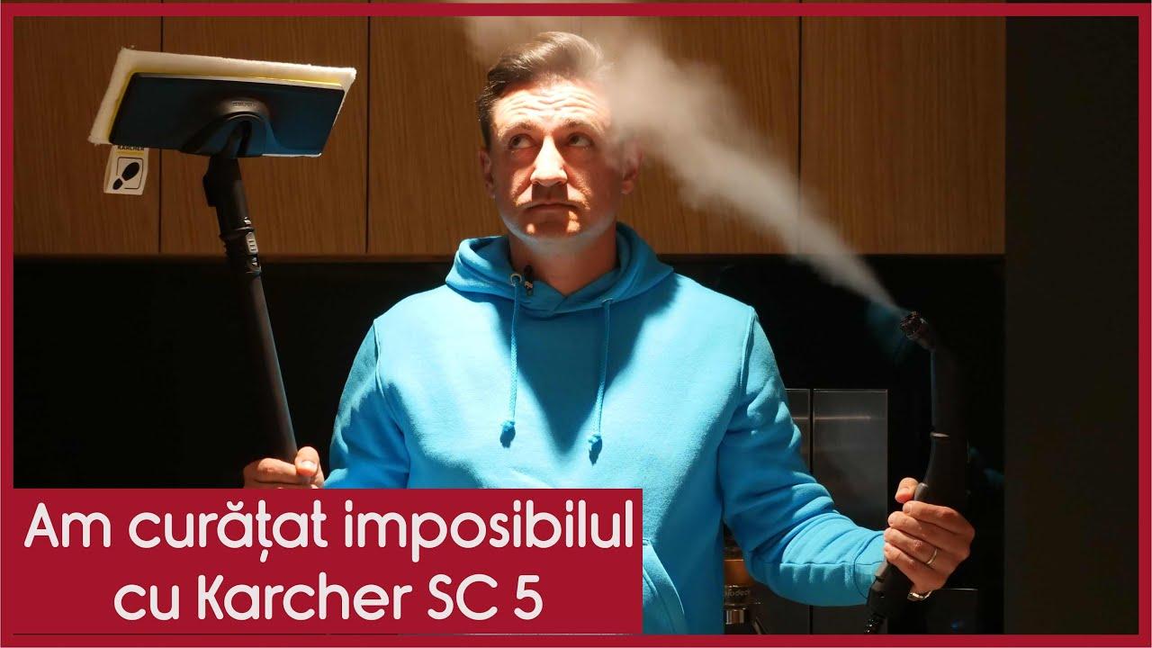 Am curățat imposibilul cu Karcher SC 5 #ad - CASEBUNE.RO