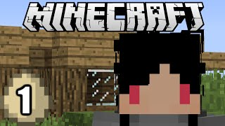 Minecraft Survival Indonesia - Rumah Pertamaku (1)