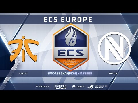 Fnatic vs EnVyUs - Dust 2 (ECS Season 2 Europe)