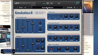 UVI Emulation II review part 1 - Instruments