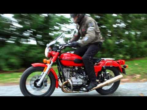 Резина на мотоцикл Урал кроссовая - YouTube