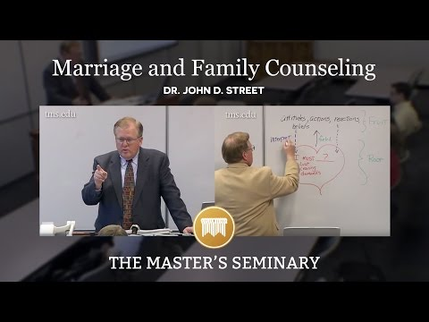 Lecture 1: Marriage and Family Counseling - Dr. John D. Street