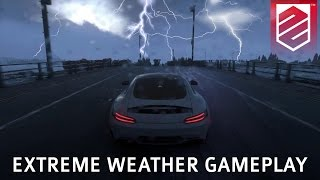 DRIVECLUB | Extreme Weather Gameplay - Heavy Rain, Snow, Lightning | Patch 1.08