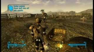FALLOUT NEW VEGAS : Quick Leveling Up - Good For Damage Achievements