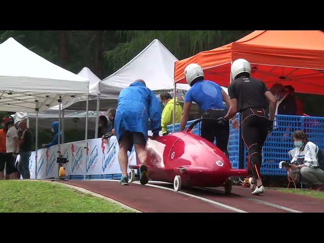 Campionati Italiani di Spinta BOB e SKELETON - Cortina d'Ampezzo 1 Agosto 2021