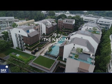 Flying to The Nassim (Freehold Condo on the Hill)