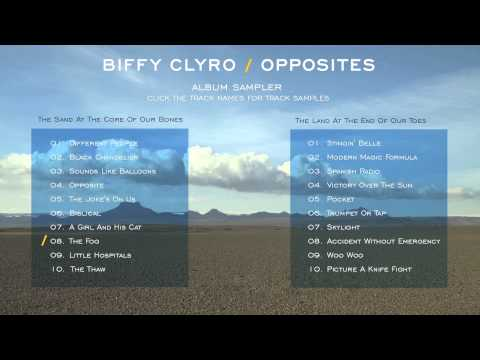 Biffy Clyro - Opposites Album Sampler