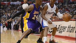 Chris Paul vs Kobe Bryant SUPERSTARS Duel 2013.01.04 - 38 Pts For Kobe, CP3 with 30 Pts, 13 Dimes!