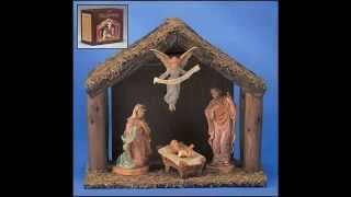 Digiovanni Nativity Set With Wood Stable - Gfchr1036