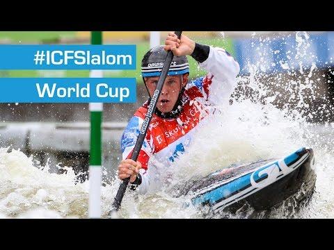 REPLAY: K1M Semifinals Slalom | Liptovsky 2015