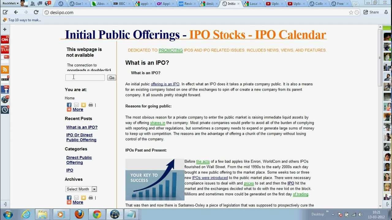 initial public offerings ipo stocks ipo calendar youtube