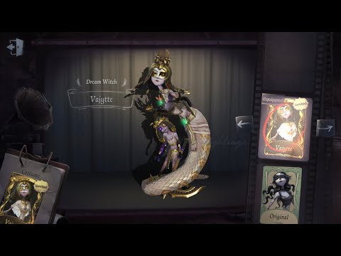 RIBET SIH TAPI TETAP SUKA YIDHRA THE DREAM WITCH VAJYTTE GOLD SKIN GAMEPLAY IDENTITY V INDONESIA