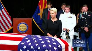 Word For Word: Sen. John Mccain Laid In State In The Arizona State Capitol  C-sp