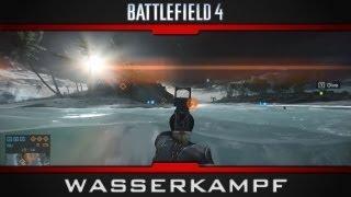 Battlefield 4 Multiplayer Gameplay - Schwimmen und Tauchen in BF4 - Wasserkampf - Gamescom 2013