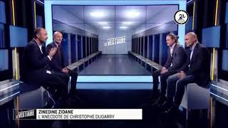 Dugarry avait plus de TALENT que Zidane et Insiste sur Deschamps qui le remet à sa place .