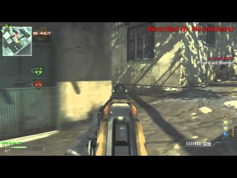 Model 1887 MOAB! (Call Of Duty Modern Warfare 3 Gameplay)