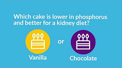 This vs. That: Low-Phosphorus Foods