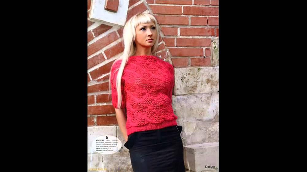 вязание спицами кофты для женщин