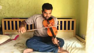 Download Snegithane and Uyire in Violin by Subramoni Rengarajan MP3 song and Music Video
