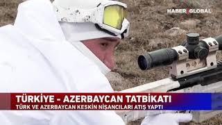 Türkiye ile Azerbaycan Ordusu'nun 'Gözü Keskin' Tatbikatı!