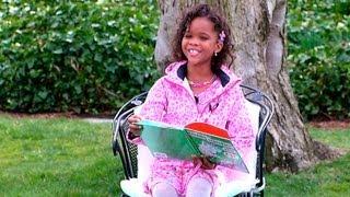 "2013 White House Easter Egg Roll: Quvenzhané Wallis Reads ""Horton Hatches the Egg"""