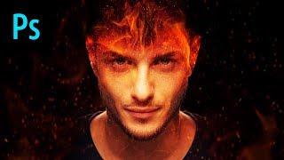 Fire Effect Composite Photoshop Tutorial
