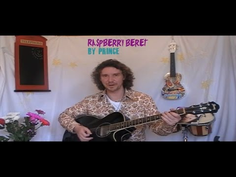 Raspberry Beret guitar lesson and cover
