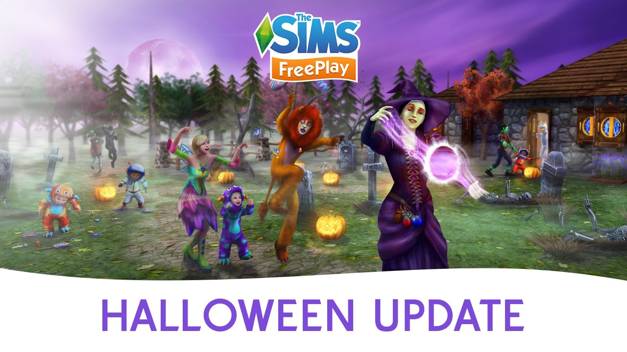Sims Freeplay Halloween 2020 The Sims FreePlay Halloween Update Official Trailer   YouTube