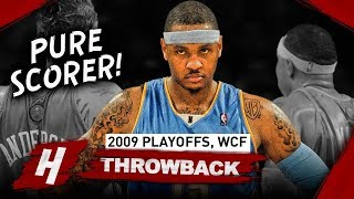 Carmelo Anthony Full WCF Series Highlights vs Lakers (2009 NBA Playoffs) - TOO CLOSE to the FINALS!