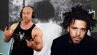 J Cole - 4 Your Eyez Only   FULL ALBUM REACTION AND DISCUSSION!!