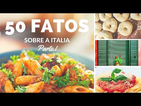 50 fatos / curiosidades sobre a Italia | Fabio Barbiero