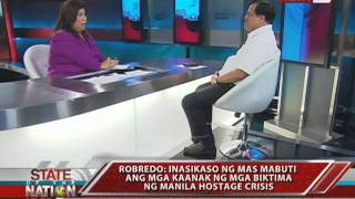 SONA: One-on-one with DILG Sec. Robredo on Manila Hostage Crisis