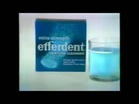 Efferdent Commercial (1975)