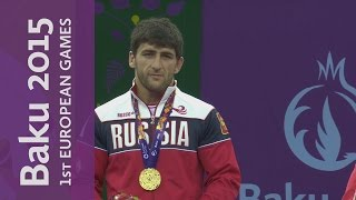 Aniuar Geduev wins the Men's 74kg Freestyle category | Wrestling | Baku 2015 European Games