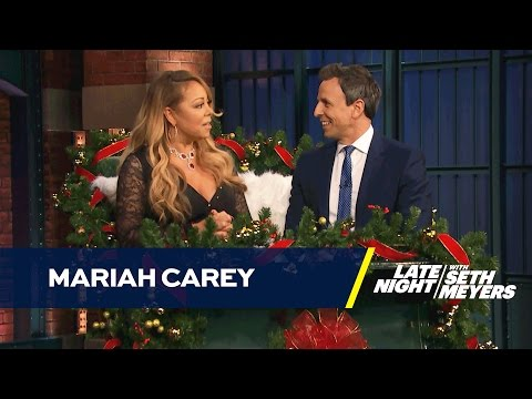 Christmas Queen Mariah Carey Has a Sleigh Interview