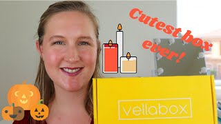 SO CUTE | Vellabox Candle Subscription October 2018 Unboxing