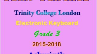 Pink Panther - Trinity Grade 3 - Electronic Keyboard