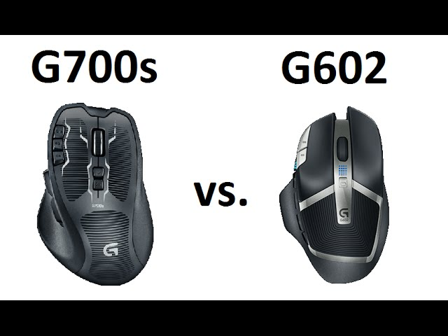 Logitech G700s vs G602 Gaming Mouse Comparison