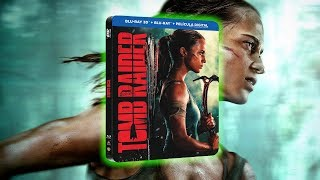 Unboxing Tomb Raider - Steelbook Blu-Ray 3D