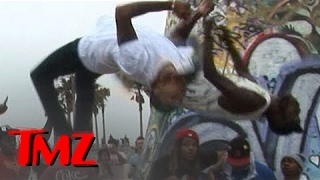 Chris Brown Flips Out -- Caught on Tape! -- Cat Daddy Music Video | TMZ