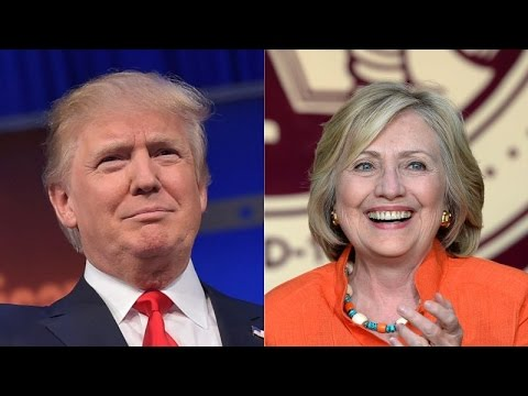 donald trump hillary clinton win big youtube. Black Bedroom Furniture Sets. Home Design Ideas