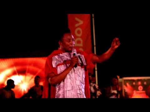 Nicholas Omane Acheampong performs at VGMA