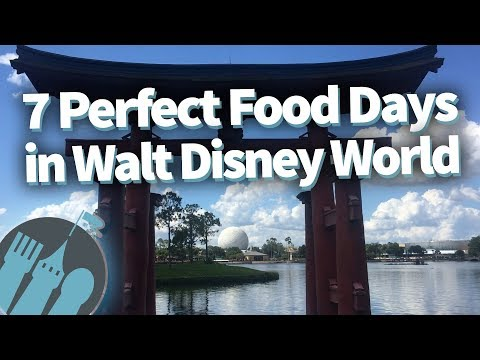 7 Perfect Food Day Itineraries in Walt Disney World!
