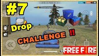 Free Fire Challenge #7 SADECE DROP YAĞMALAYARAK OYNA  !!
