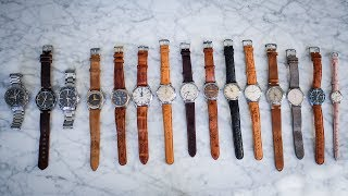 My Watch Collection (Rolex, Omega, Grand Seiko, Nomos, Universal Geneve, Jaeger LeCoultre)
